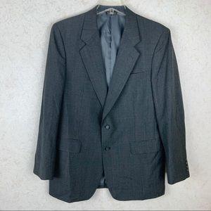Towncraft drak gray wool sport coat
